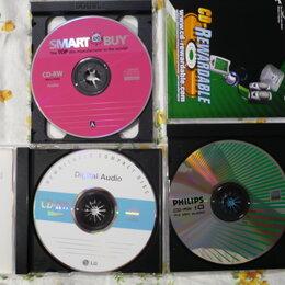 Музыкальные CD и аудиокассеты - CD-RW Audio.+ мп-3 диски+книги+разговорник+клубная +разное, 0