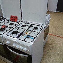 Плиты и варочные панели - Газовая плита KRAFT KF-FSK5403AGW новая , 0
