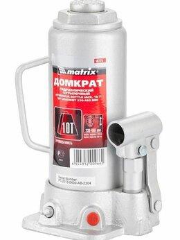 Такелаж - Домкрат гидравлический бутылочный 10т, h подъема…, 0