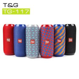 Портативная акустика - Колонка блютуз портативная T&G 117, 0