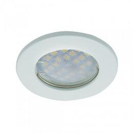 Люстры и потолочные светильники - Светильник Ecola mr16 белый, 0