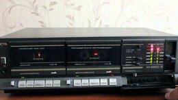 Музыкальные центры,  магнитофоны, магнитолы - Дека кассетная Нота М220С1 с Усилителем , 0