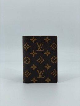 Обложки для документов - Обложка на паспорт Louis Vuitton кожаная…, 0