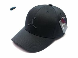 Головные уборы - Бейсболка кепка Jordan (черный), 0