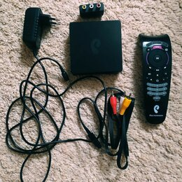 ТВ-приставки и медиаплееры - Приставка ростелеком, 0