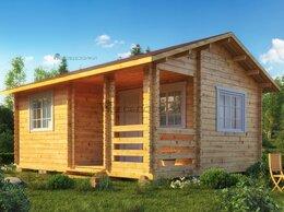 Готовые строения - Садовый домик  из мини-бруса 6х4,5 «Белая Русь» , 0