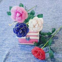 Рукоделие, поделки и сопутствующие товары - Цветы из бисера , 0