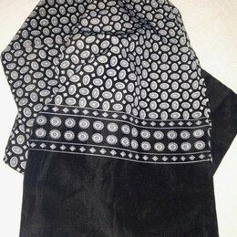 Шарфы - 🔥Мужской шейный шёлковый платок (кашне), 0