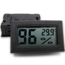 Метеостанции, термометры, барометры - Цифровой ЖК-Термометр-гигрометр, 0