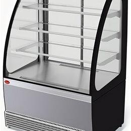 Холодильные витрины - Неохлаждаемая витрина Veneto VS-0,75 (нерж.), 0