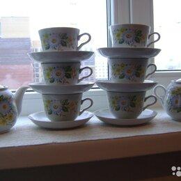 Кружки, блюдца и пары - Продам новый чайный сервиз сделано ещё в СССР 1980год, 0