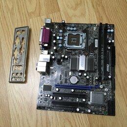 Материнские платы - MSI G41M-P28 (775/DDR3), 0