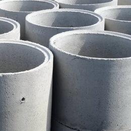 Железобетонные изделия - бетонные кольца для колодца КС 10-9 паз , 0