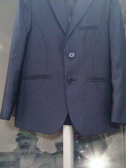Пиджаки - Пиджак школьный для мальчика, р.122, 0