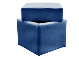 Пуфики - Пуф Асмана квадратный с местом для хранения, 0