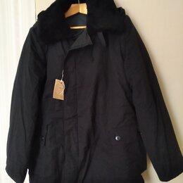 Одежда и аксессуары - Куртка мужская ватник телогрейка новая р 52-3 чёрная , 0