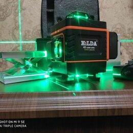 Измерительные инструменты и приборы - Лазерный уровень Hilda 16 лучей, 360, 0
