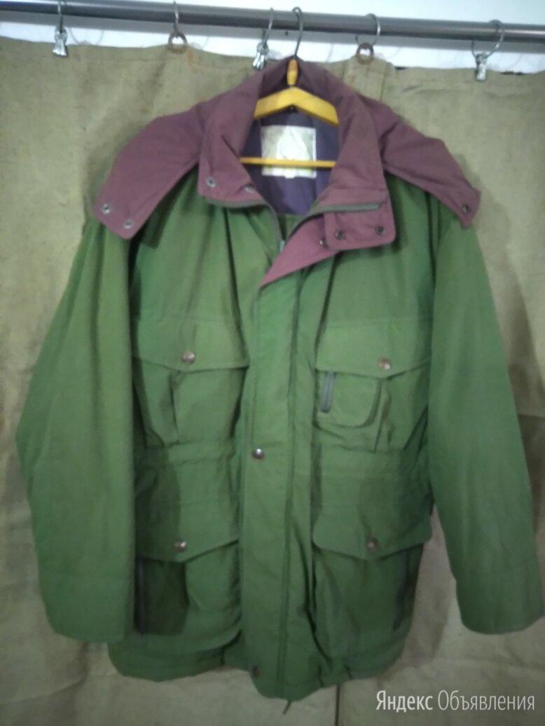 Куртка размер 50-52  с капюшоном по цене 300₽ - Куртки, фото 0