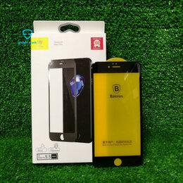Защитные пленки и стекла - Baseus 3D защитное стекло для iPhone 6/6s Plus Black, 0