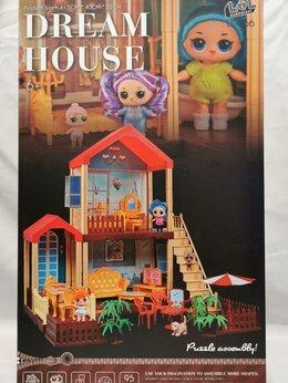 Куклы и пупсы - Дом лол большой, 0