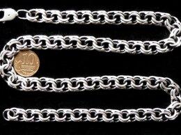 Цепи - Серебряная цепь бисмарк.Вес 60 грамм,длина 50 см, 0