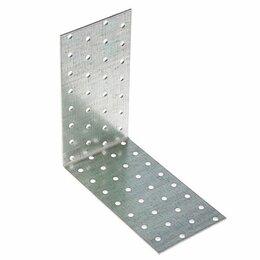 Перфорированный крепеж - Крепежный уголок равносторонний 100*100*60мм (KUR), 0