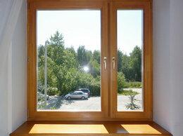 Окна - Деревянное окно со стеклопакетами, 0