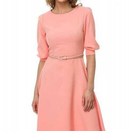 Платья - Платье персиковое 50 размер Новое, 0