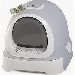 Биотуалеты - Туалет-бокс, выдвижной поддон, Фэнтези 55*42*43 серый 1шт/уп, фильтр, совок, ..., 0