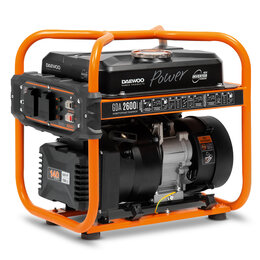 Электрогенераторы - Инверторный бензиновый генератор DAEWOO GDA 2600i, 0
