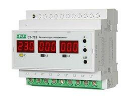 Реле - Реле контроля напряжения CP-723 (трехфазное; два…, 0