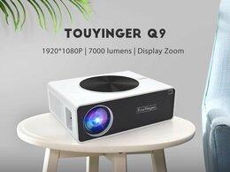 Домашние кинотеатры - Проектор Full HD 1080P, 7000 лм, Q9 (новый ), 0