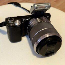 Фотоаппараты - Фотоаппарат Sony Alpha NEX-5N Kit (без торга), 0