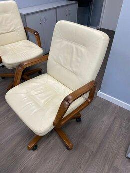 Компьютерные кресла - Кресло кожаное, 0