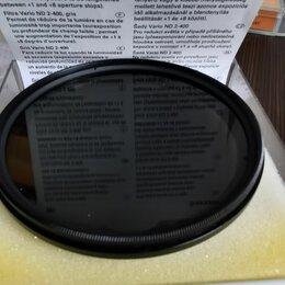 Светофильтры - Светофильтр Hama 72mm Grau Vario ND2-400, 0