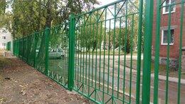 Заборы и ворота - Забор сварной ограждение оградки производство, 0