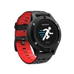 Наручные часы - Умные часы NO.1 F5 (черный/красный), 0