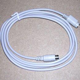 Компьютерные кабели, разъемы, переходники - Кабель удлинитель PS/2 1.8м, 0