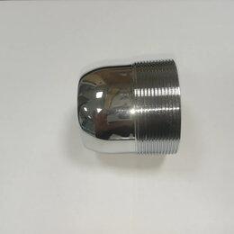 Комплектующие - Гайка (ПЛАСТИК) фиксации картриджа смесителя душевой кабины, 0