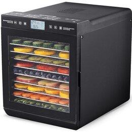 Сушилки для овощей, фруктов, грибов - Дегидратор RAWMID Modern RMD-10, 0
