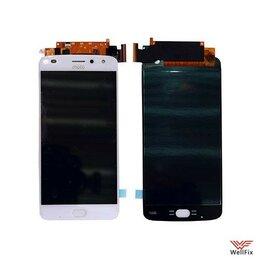 Дисплеи и тачскрины - Дисплей для Motorola Moto Z2 Play в сборе белый, 0