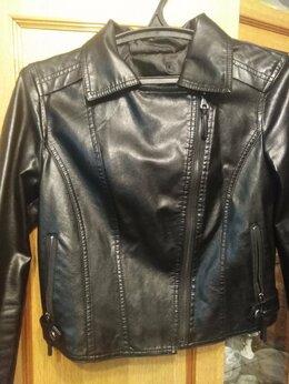 Куртки - Куртка из экокожи, 0