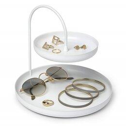 Подставки и держатели для украшений - Держатель для украшений и аксессуаров poise, белый, 0