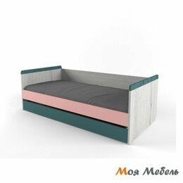Кровати - Кровать с дополнительным спальным местом розовая «Нью Тон», 0