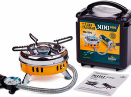 Газовые горелки, паяльные лампы и паяльники - Газовая горелка Tourist Mini-2000 TM-200, 0