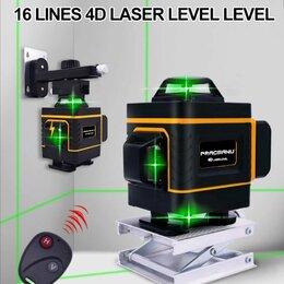 Измерительные инструменты и приборы - Лазерный уровень 4d 360° 16 линий , 0