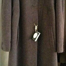Пальто - Пальто НОВОЕ, шикарное, из дорогой шерсти с ламой, р.52-54, 54-56, 0