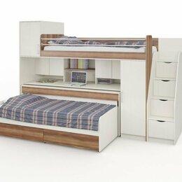 Кроватки - Кровать двухъярусная Д-908, 0