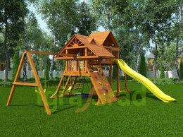Игровые и спортивные комплексы и горки - Детская площадка IgraGrad Крепость Фани Deluxe +, 0