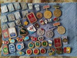 Жетоны, медали и значки - значки спорт, 0